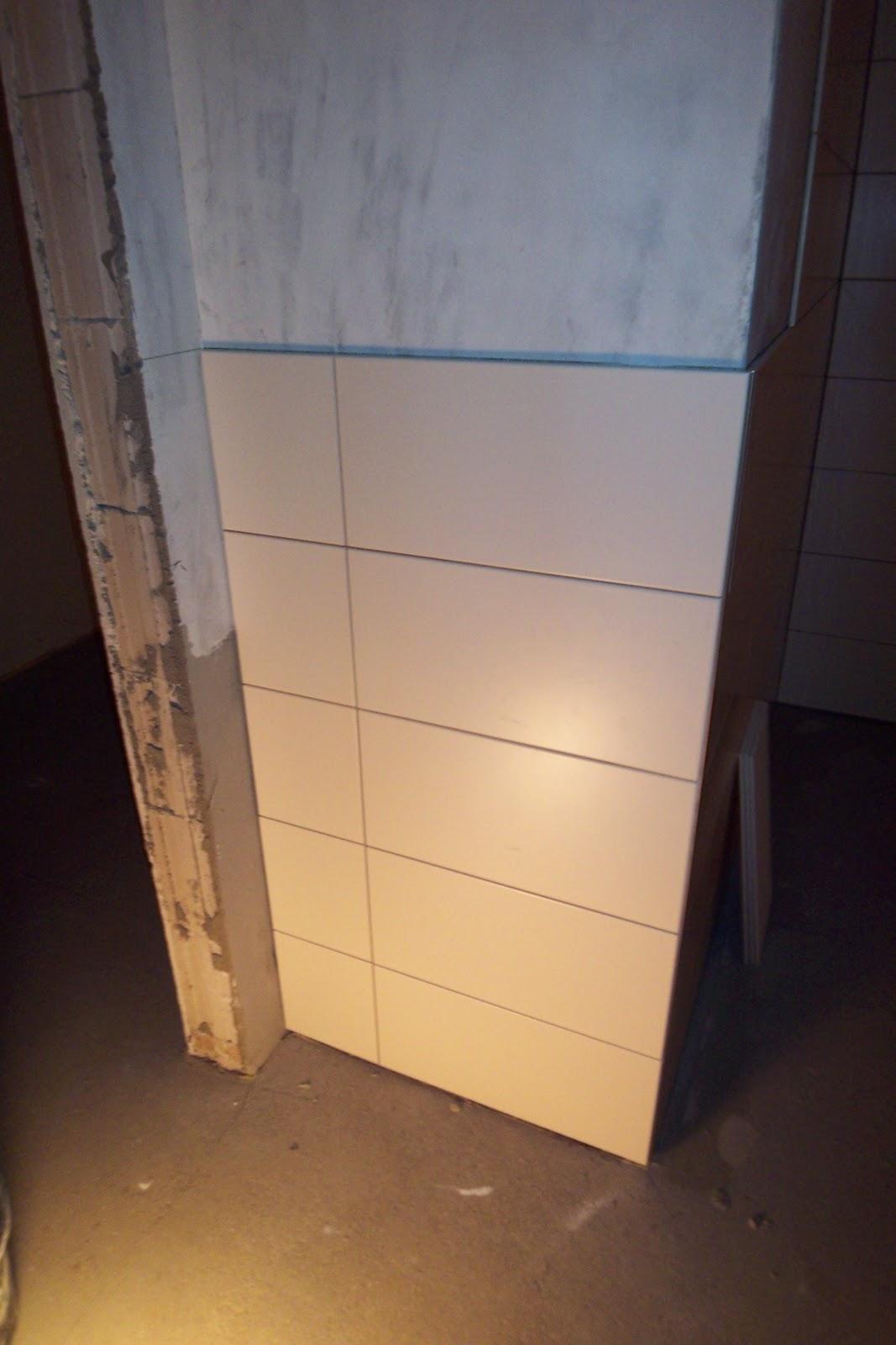Unser Haustraum Erste Fliesen An Der Wand - Fliesen 20 x 25