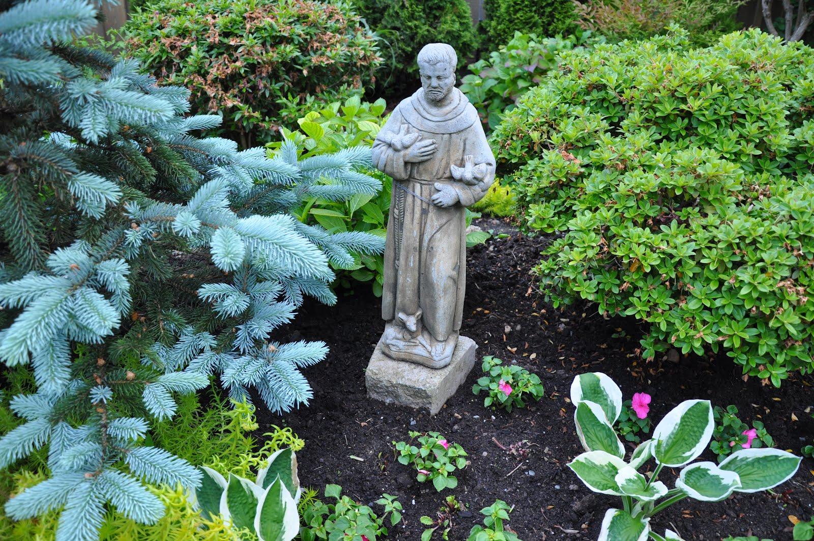 Orbis Catholicus Secundus Ourdoor Garden Statue Of St