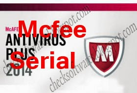 McAfee Antivirus Plus 2015 Activation Code Free Download