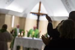 """""""No a los cristianos vanidosos, son como una bola de jabón"""", el Papa en Santa Marta"""
