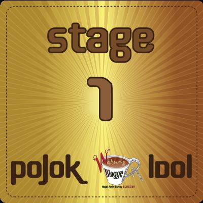 Pagelaran Pojok WB Idol  Pertama