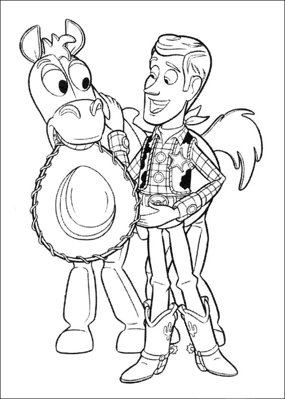 Free printable coloring pages cool coloring pages toy for Free printable coloring pages toy story 3