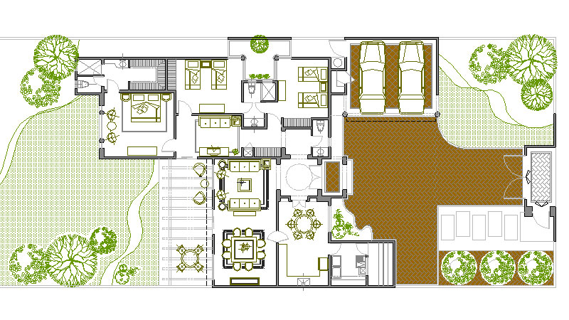 Planos arquitectonicos for Dibujos de muebles para planos arquitectonicos