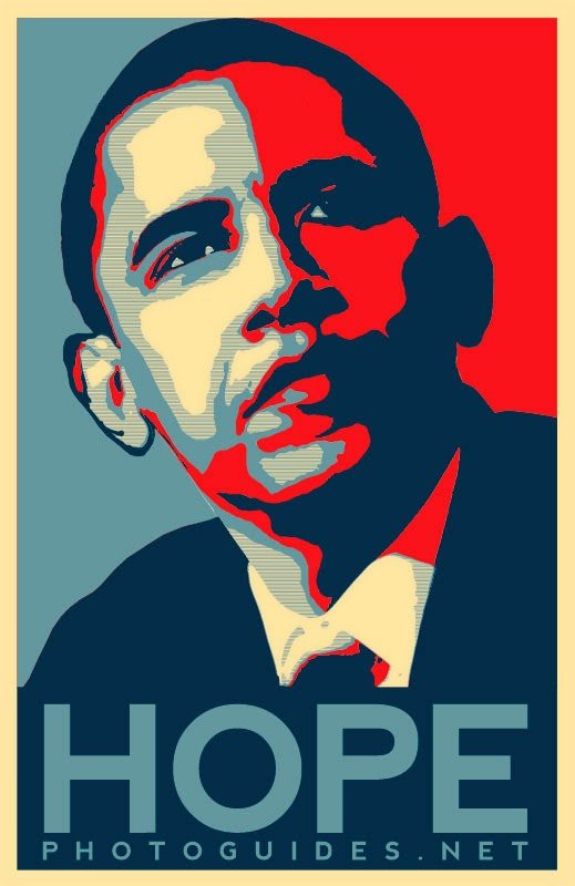 Cara membuat hope poster