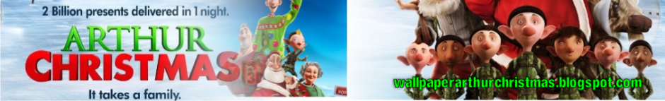 Wallpaper Arthur Christmas