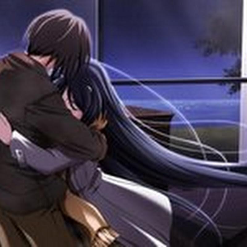 Sad Anime Love Hug