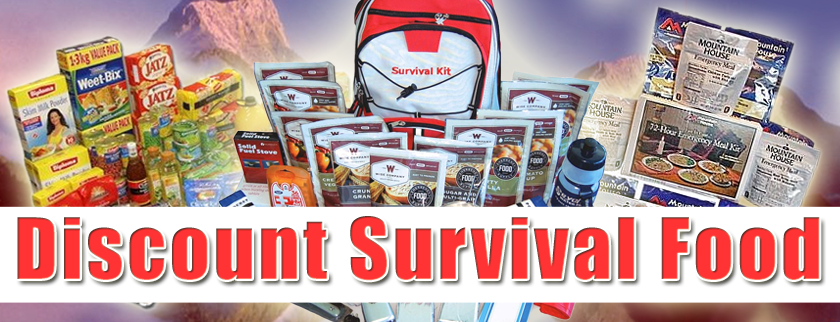 Discount Survival Food