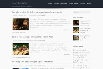 Base Blogger Template