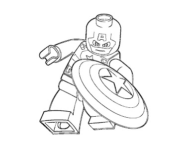 #2 Lego Coloring Page
