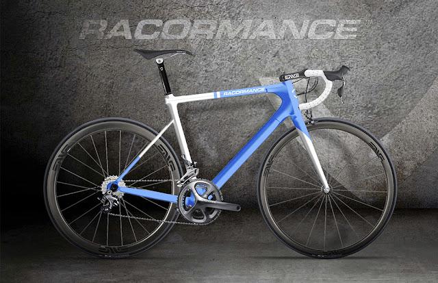 Racormance nos presenta su bici  fabricada con fibra de Basalto