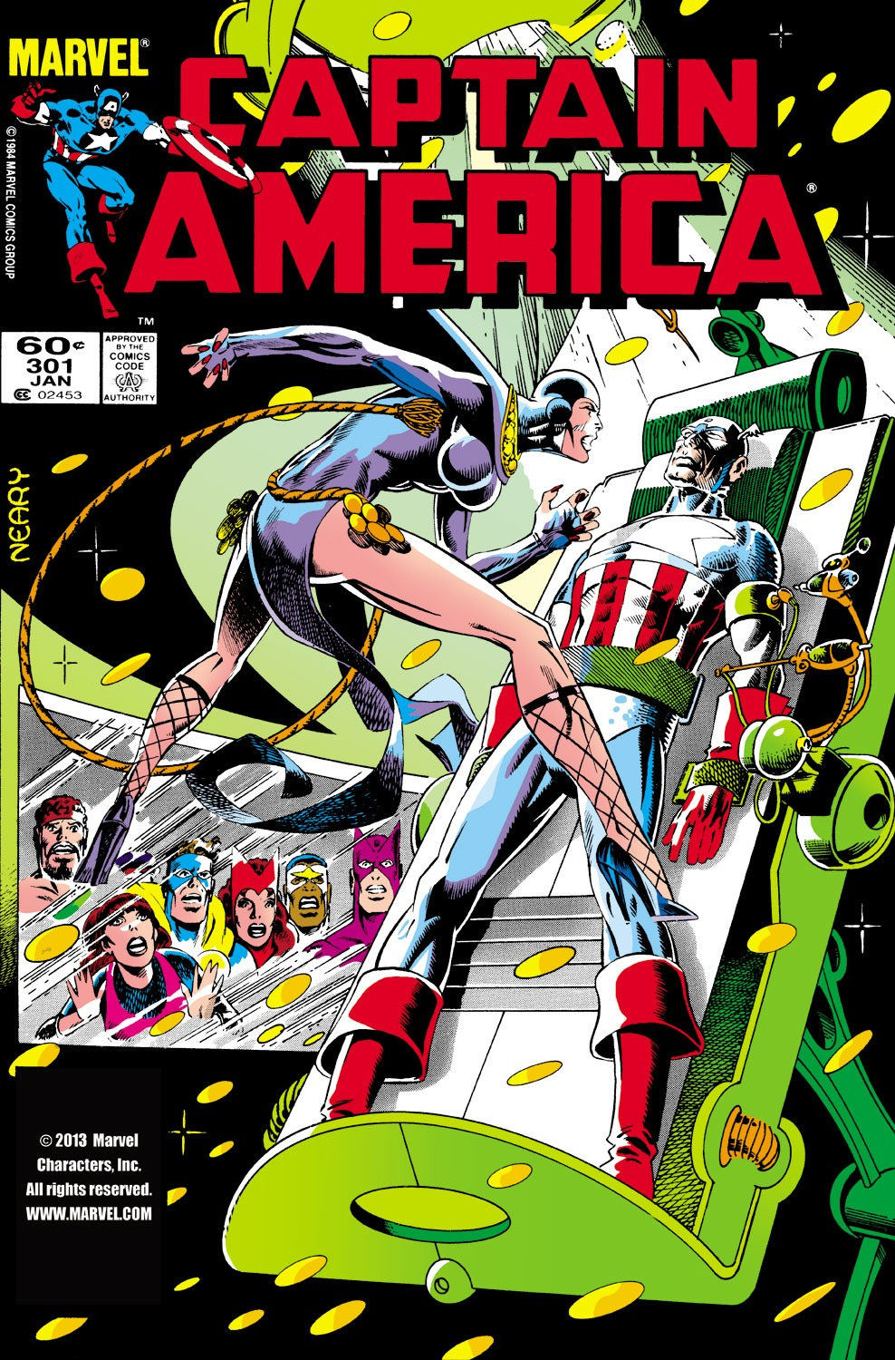 Captain America (1968) Issue #301 #229 - English 1