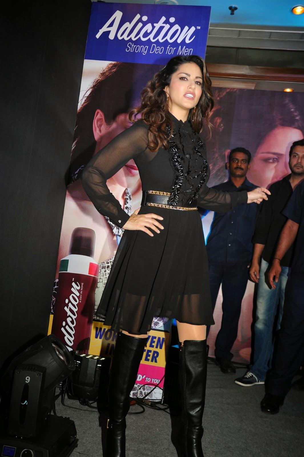 Sunny Leone at Mankind Pharma's Adiction Deo Contest Photos