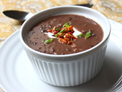 Quick and Easy Black Bean Soup – Something from Almost Nothing