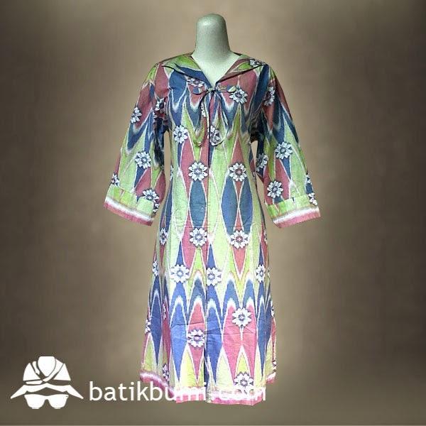 Dress Batik Motif Rang Rang Db 011 Jual Batik Murah Batik Modern