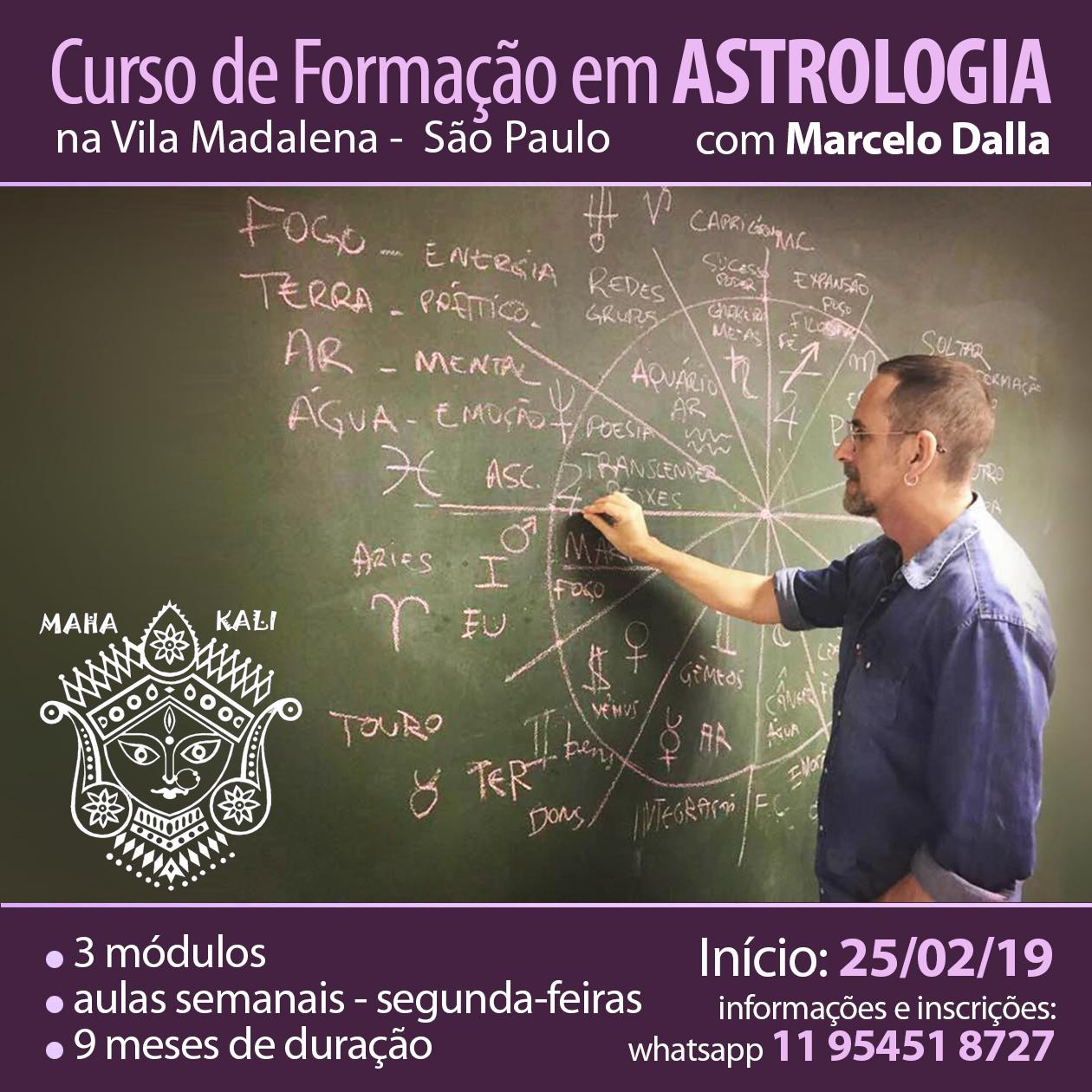 CURSO DE ASTROLOGIA EM SÃO PAULO