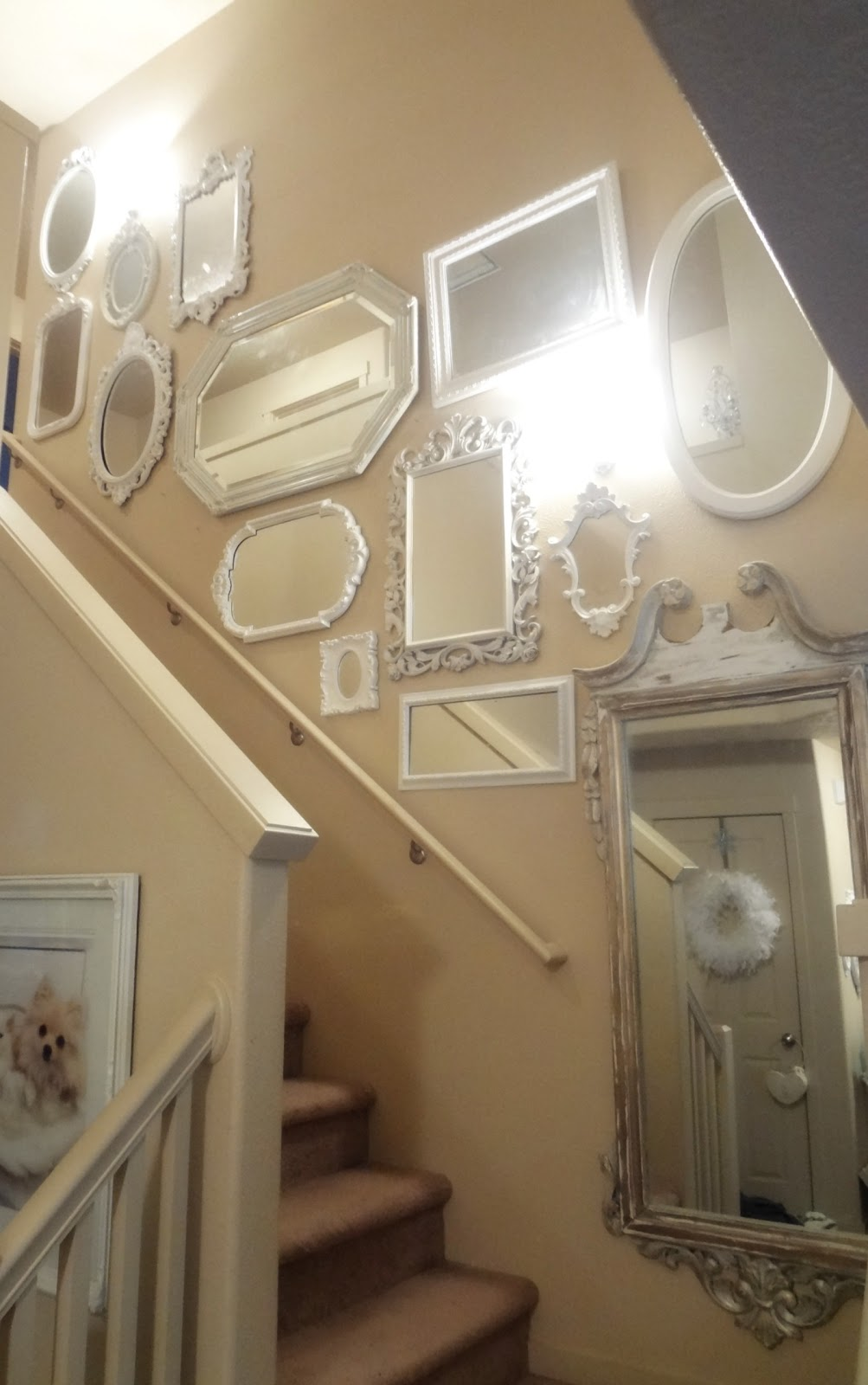 Not so shabby shabby chic mirror mirror on the wall for Mirror on a wall