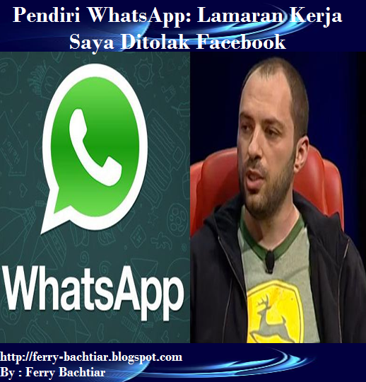 Brian Acton (pendiri WhatsApp)
