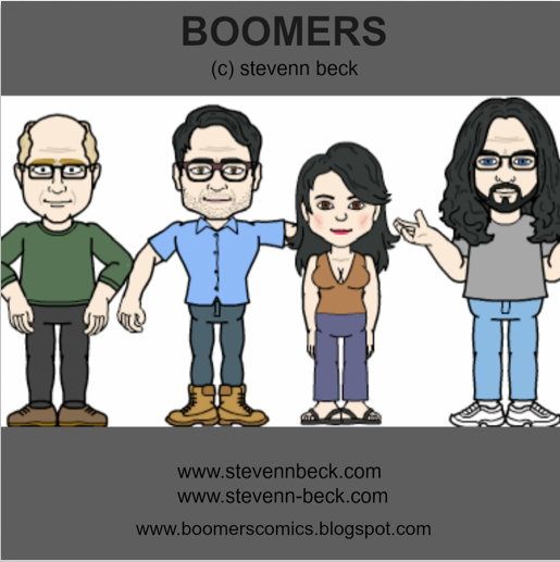 "Stevenn Beck's ""BOOMERS"" Comic Strip"