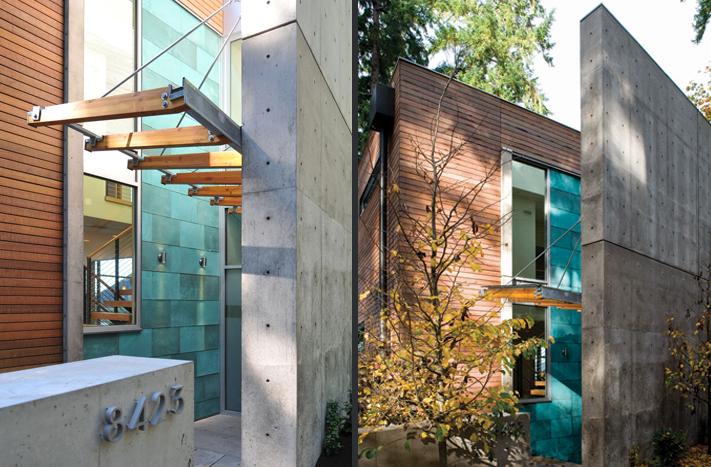 Modern Residence in Bainbridge Island, Washington
