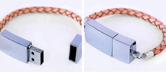unique collections usb flash drive bracelet