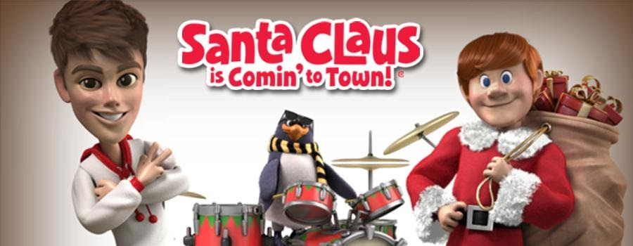 English is FUNtastic: Christmas Carol: Santa Claus is coming to town by Justin Bieber