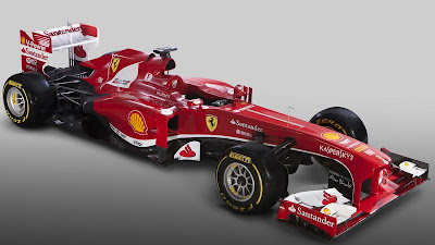 Ferrari F138 2013 Front Side 1