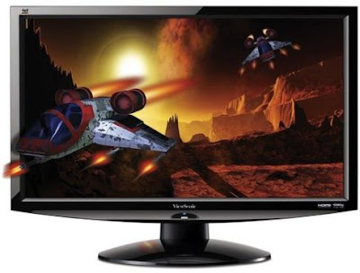 top ViewSonic V3D241 3D LED Backlit Monitor Review