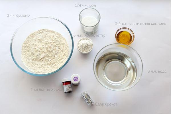 Как сделать пластилин из соли и воды