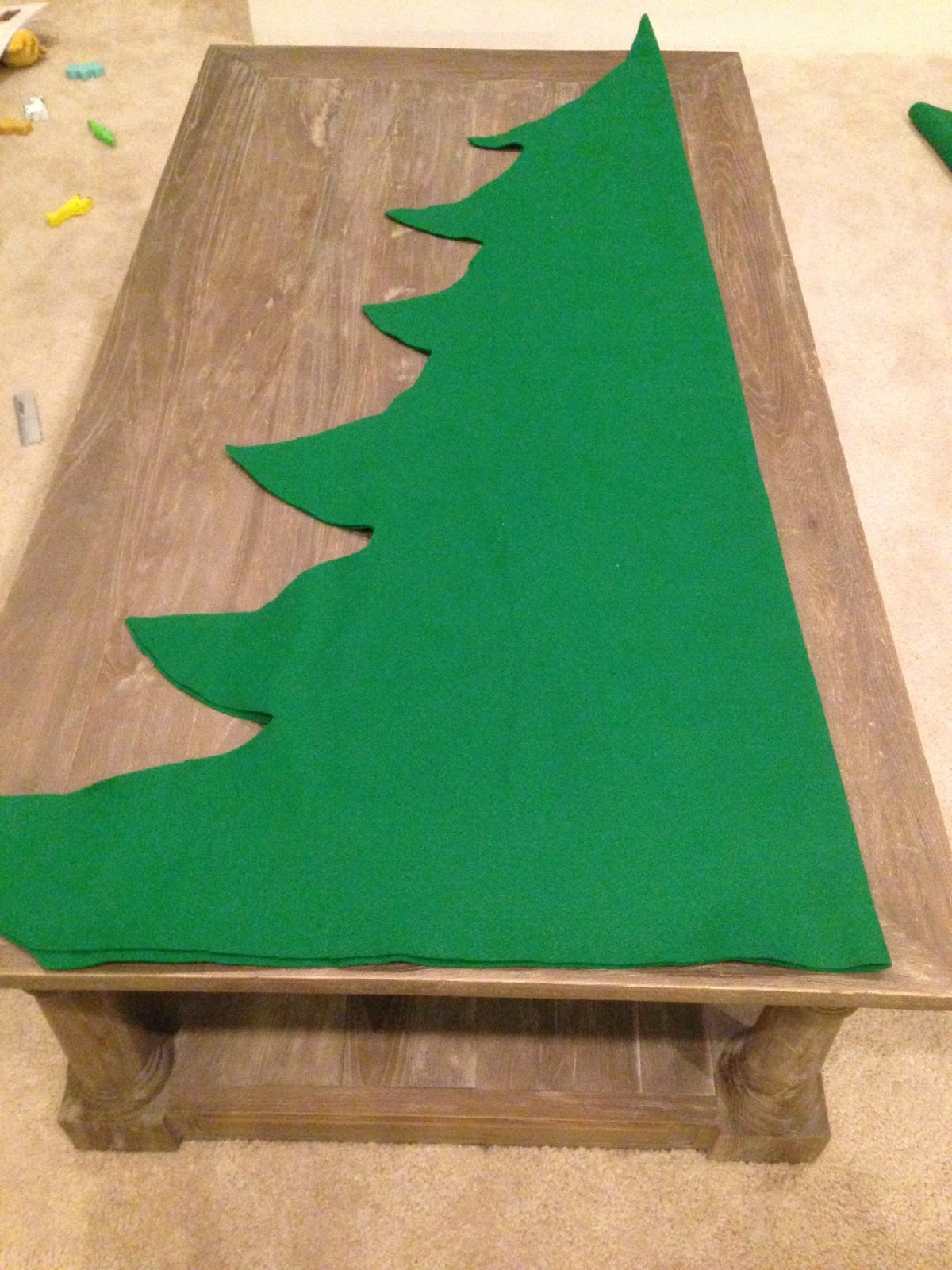 wife without borders weekly pinterest project felt christmas tree