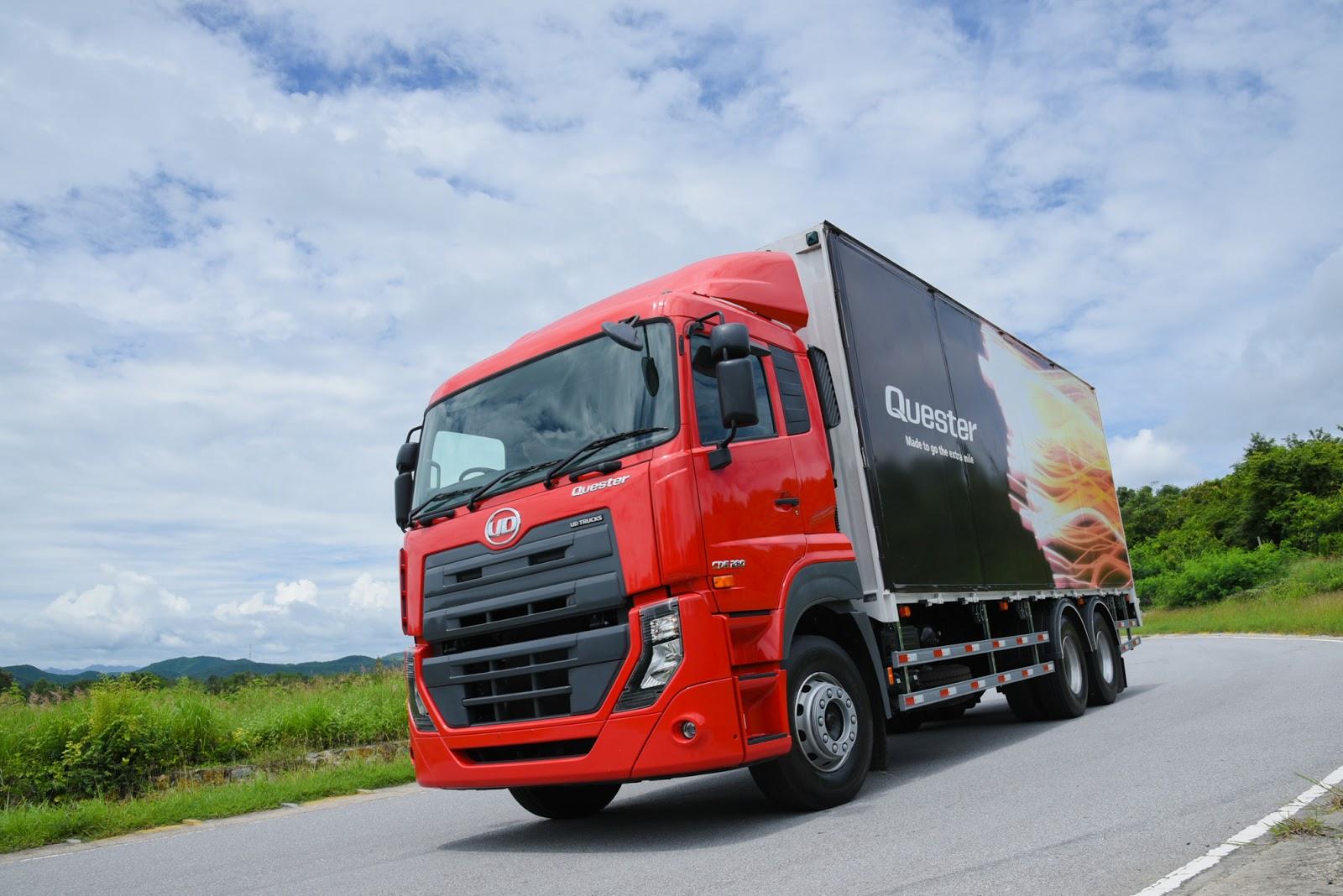 Quester GWE  UD Trucks