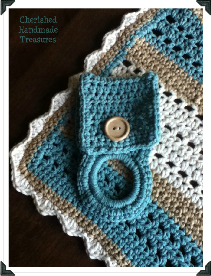 Crochet-Crochet!! Towel Holder