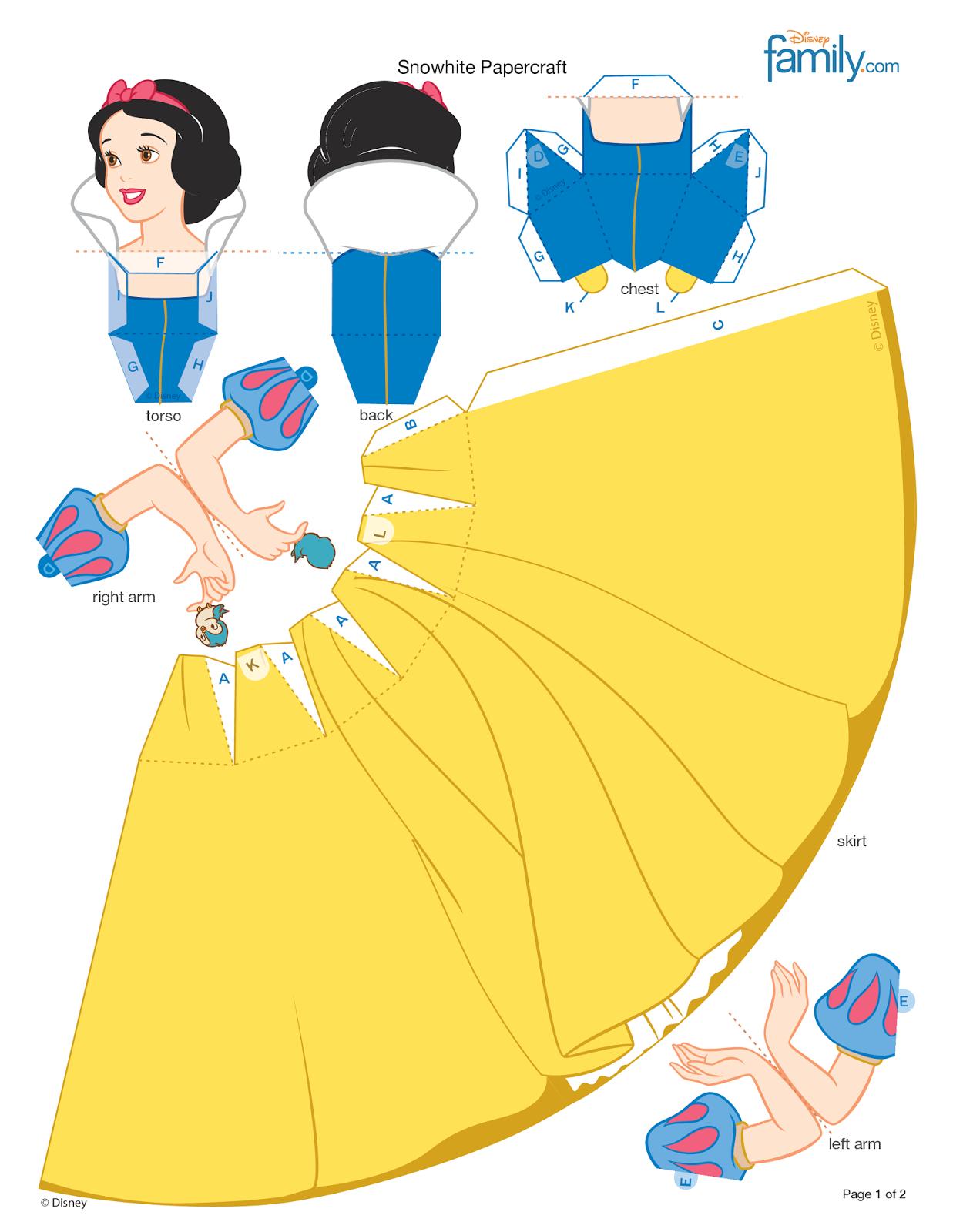 Casa da r princesas da disney em 3d download - Casas de princesas ...