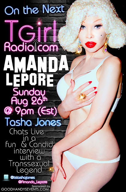 Tasha Jones Interviews Amanda Lepore!