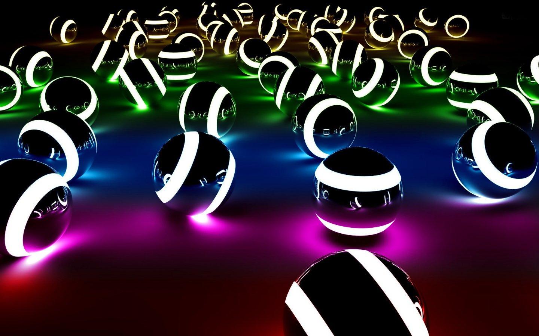 3d snooker balls