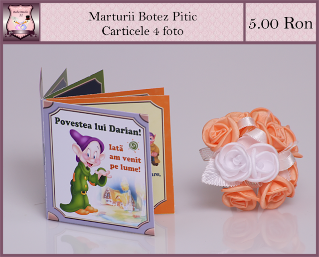set marturii botez pitic