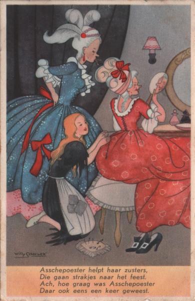 cartoon style version of Cinderella