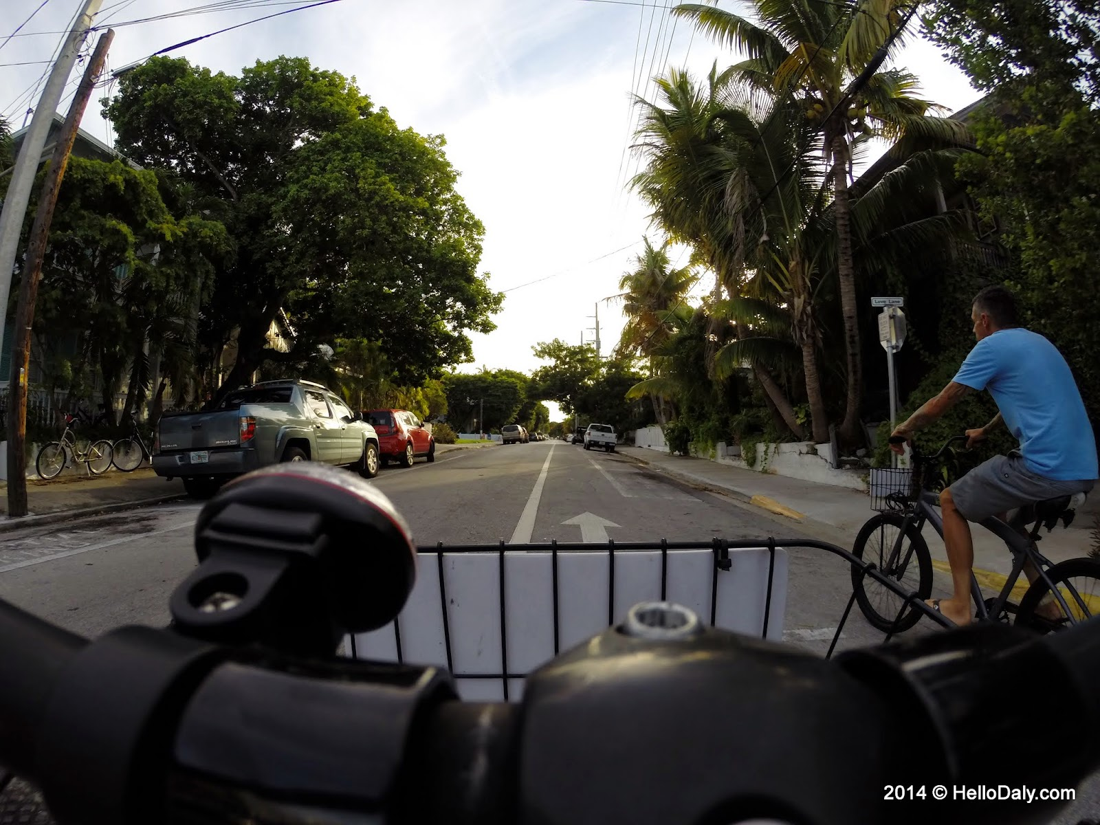 Bicycling in Key West