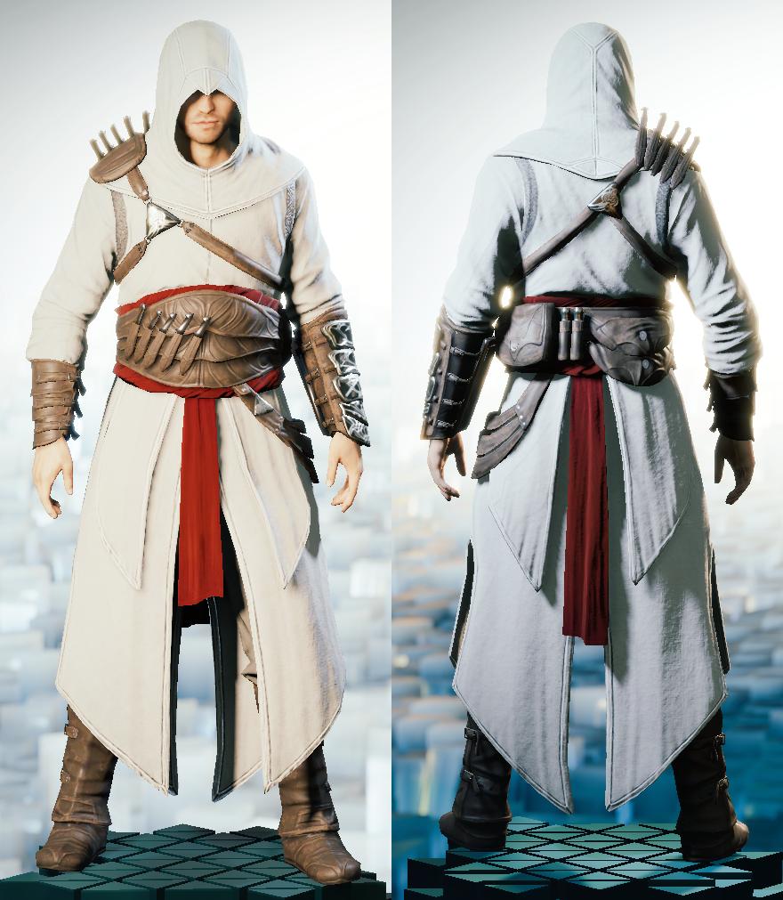Assassins creed своими руками