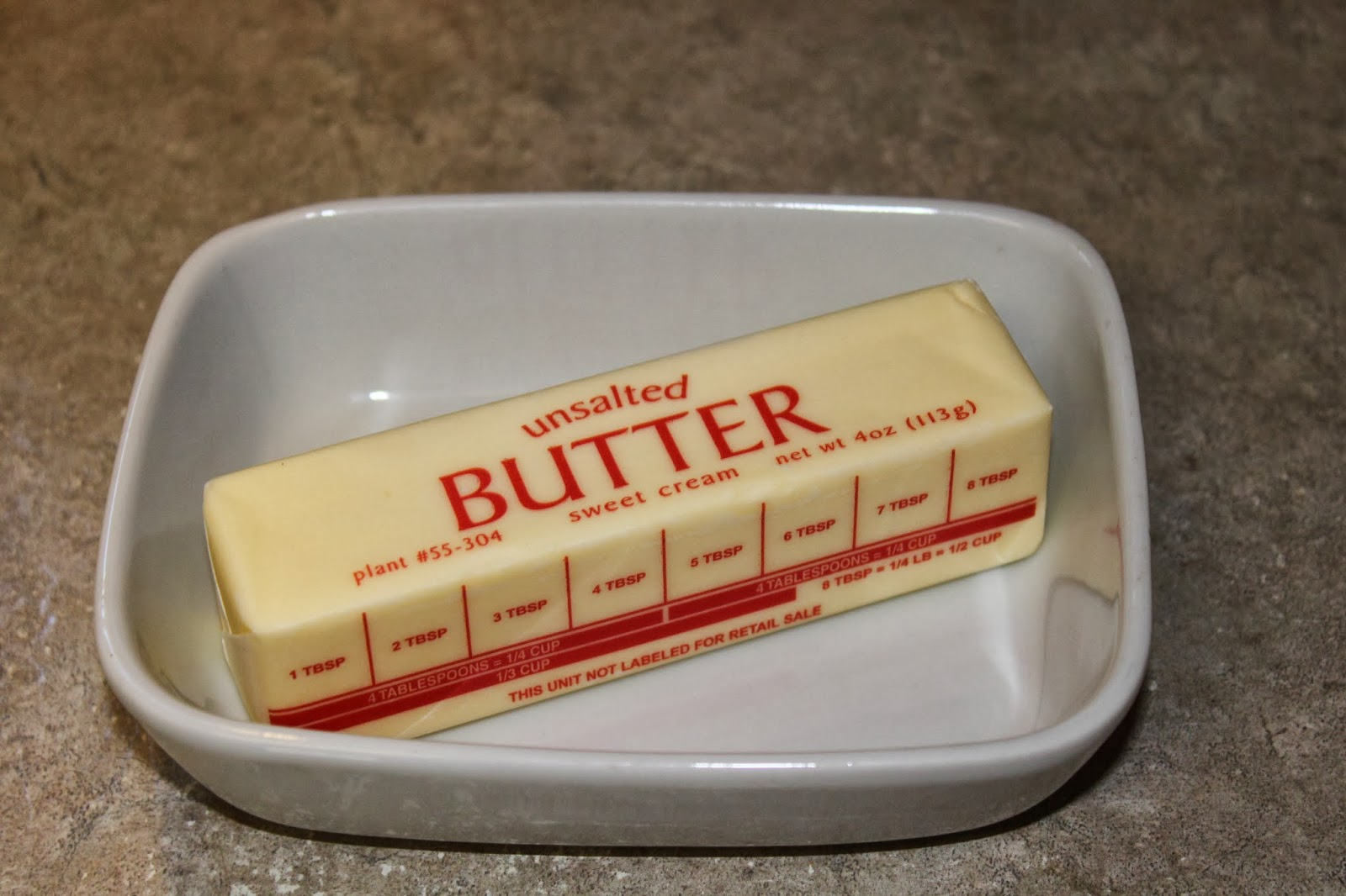 Stick Of Butter Half stick of butter.