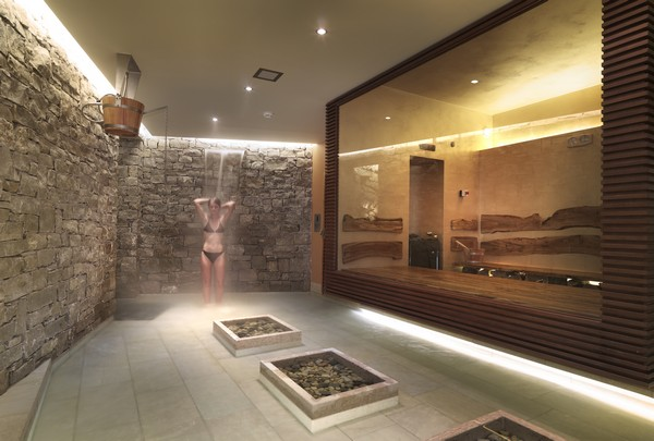 Ayurveda spa and sauna by studio alberto apostoli home 4us for Designhotel wellness