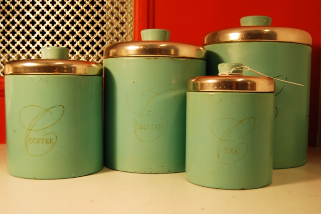 Blue Elephant Kitchen Canister Sets