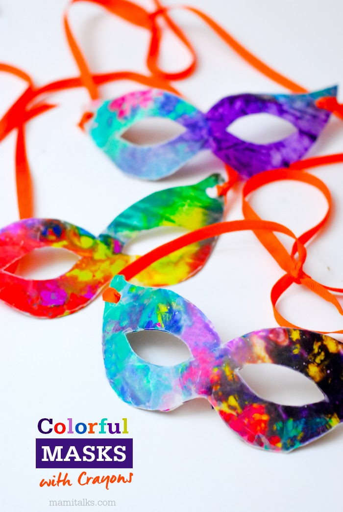Mami talks carnaval craft ideas and celebration for Mardi gras masks crafts