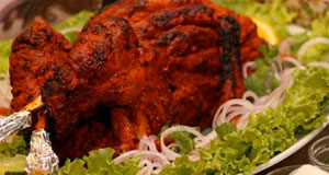 tandoori turkey