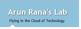 Arun Rana's Lab
