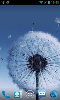 Galaxy S3 Dandelion Live wallpaper