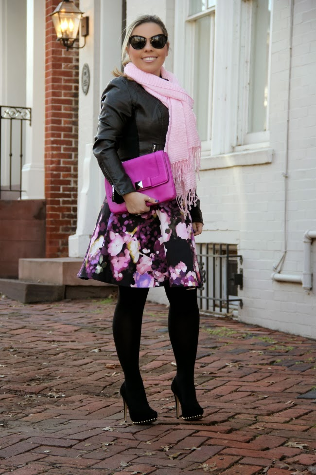Fuchsia Flora Winter Outfit