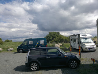 Parkinglot in Kivik, a nice place
