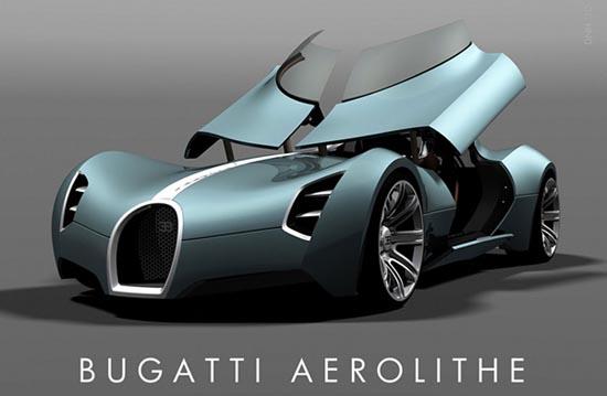 Batman Car Bugatti Aerolithe Concept From Douglas Hogg Luxury And