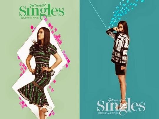 Park Shin Hye, Singles Dergisi ��in Gizemli Bir Havaya B�r�nd� /// 21 Ocak 2014