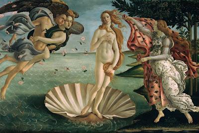painiting Venus aphrodite mythology Friday the 13th